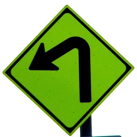 道路標識等<和歌山県> 交差点・カーブ警戒標識収集