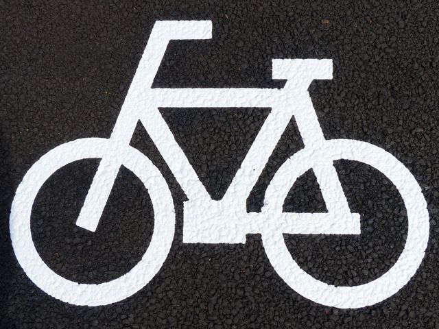 普通自転車歩道通行可」