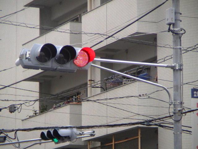 道路標識と信号機の森)画像 ...
